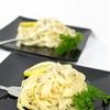 Homemade Herb Pasta with a Creamy Lemon Prosecco Sauce
