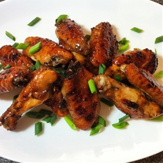 Balsamic Glazed Chicken Wings