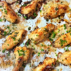 Garlic Butter Chicken wings