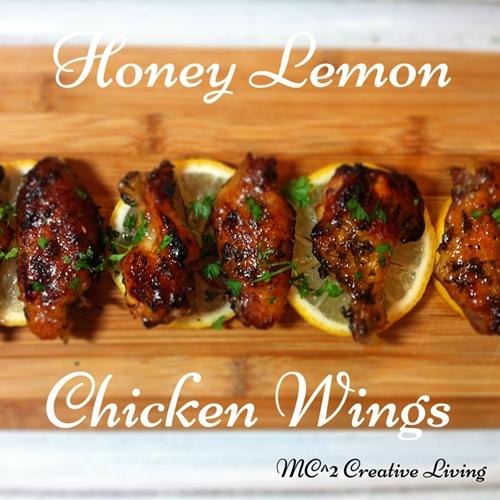 Honey Lemon Chicken Wings