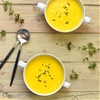 sweetcorn and roasted yellow pepper soup
