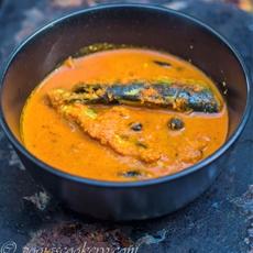 Goan Style Tallyanche Hooman / Sardine Curry