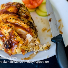 Baked Chicken Breasts: An Easy Appetizer