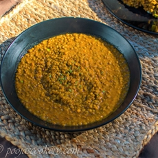 Red Lentil Curry Without Coconut