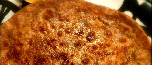Goan flavored Aloo Paratha