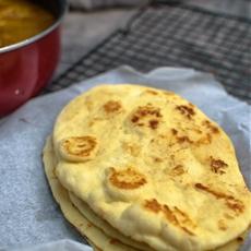 No Yeast Naan / Indian Flatbread