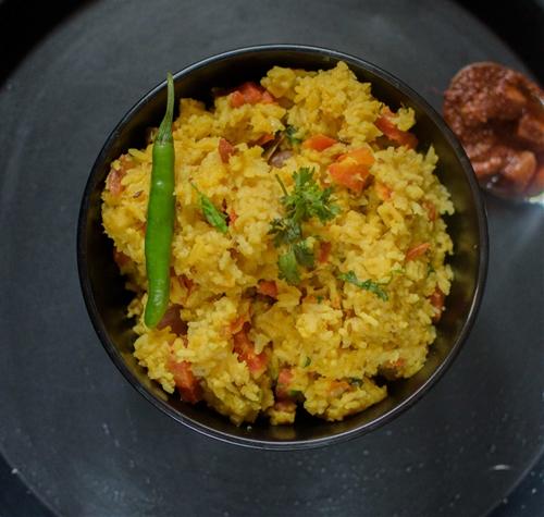Dal Khichdi/ Vegetable Khichdi