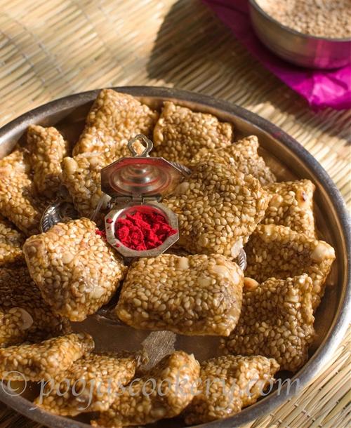 Tilgul Shengdana Vadi / Sesame Seeds Sweet