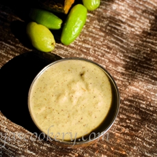 Bimbla Raita /Bimbla Sasav/ Indian Sweet and Sour Condiment