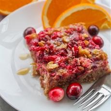 Cranberry Orange Baked Oatmeal