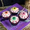 Spooktacular Halloween Eyeball Cupcakes