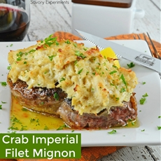 Crab Imperial Filet Mignon
