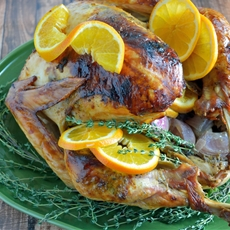 Orange, Anise and Thyme Roasted Turkey