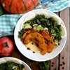 Pumpkin and Kale with Creamy Polenta + 14 More Meatless Monday Dinner
