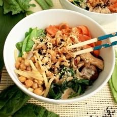 Asian Veggie Noodle Bowls