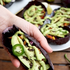 Mexican Raw Vegan Bowls with Guacamole Dressing