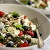Strawberry Poppy Seed Salad with Asparagus and Rhubarb