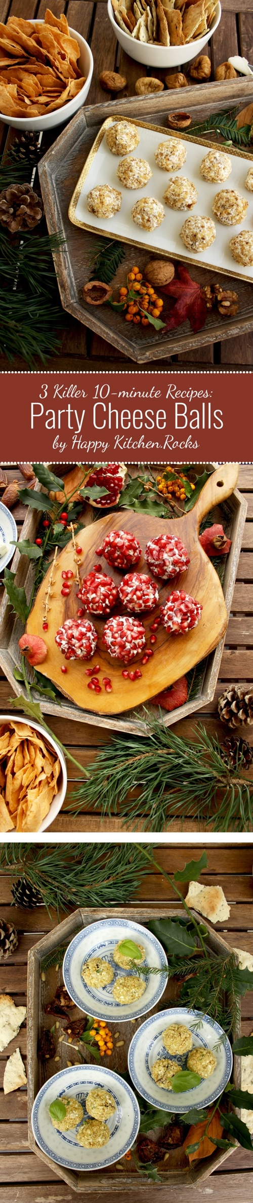 Party Cheese Balls: 3 Killer 10-minute Recipes
