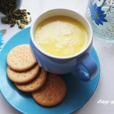 Cardamom and Rose Hot White Chocolate
