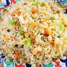 Prawn Stir Fried Rice