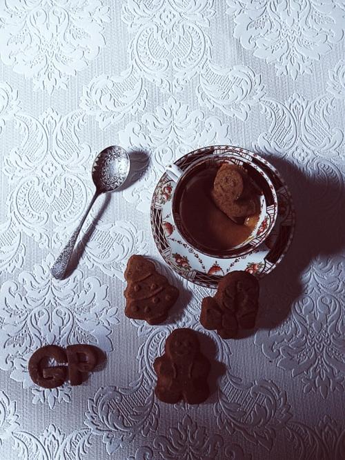 Zabaione & gingerbread cookies
