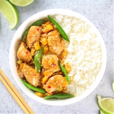 Mango Chicken Stir