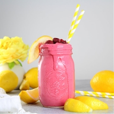 Raspberry Lemonade Smoothie