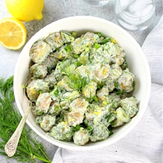 Greek Tzatziki Potato Salad