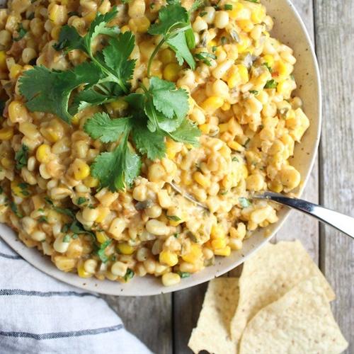 Creamy Cheesy Corn Dip