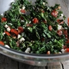 Kale Salad with Tomatoes and French Feta