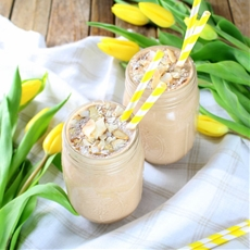 Healthy Almond Joy Protein Smoothie