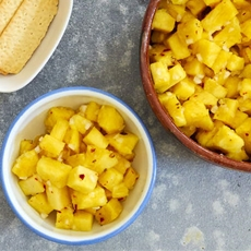 Spicy Pineapple Salad