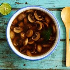 Mexican Mushroom Soup