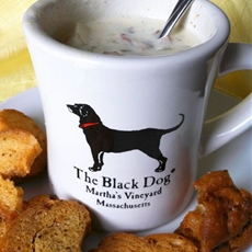 Black Dog Taverns Clam Chowder