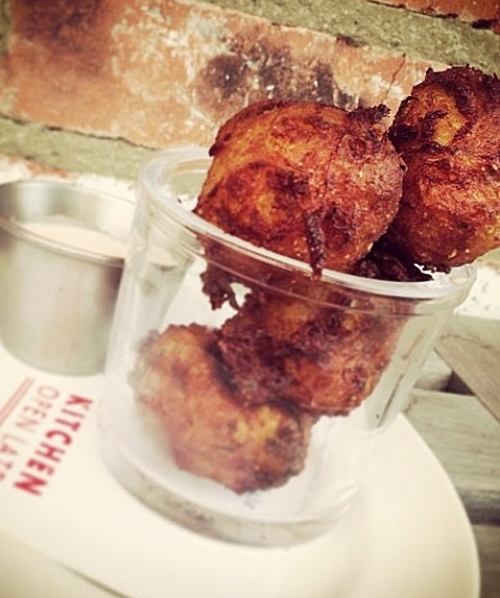 Sweet Potato Coconut Fritters