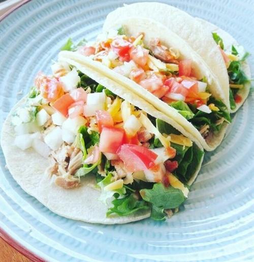 Tuna Tacos