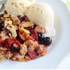 Easy Triple Berry Crisp