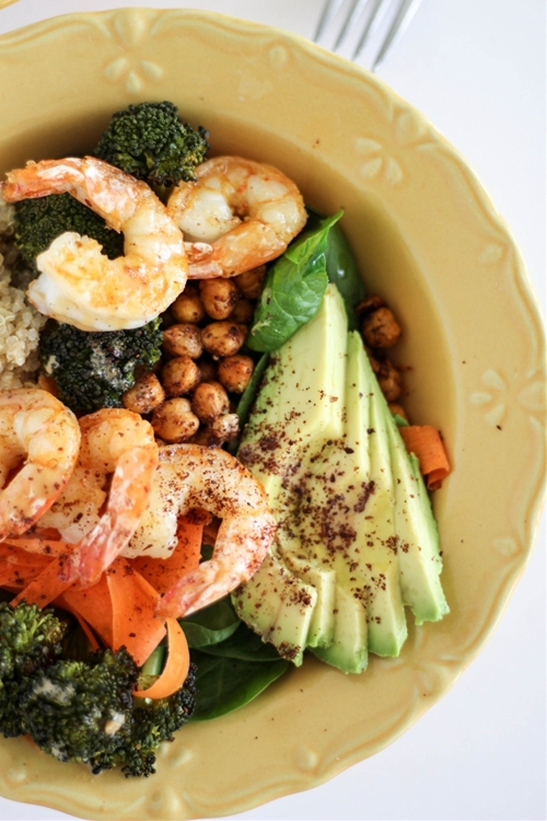 Quinoa Chickpea Buddha Bowls For Every Diet