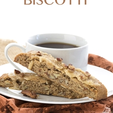 Low Carb Keto Pecan Pie Biscotti