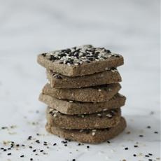 Sesame Shortbread Cookies gluten free dairy free