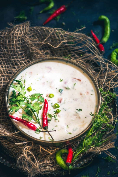 Step By Step Tomato Onion Raita
