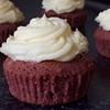 Santas favourite red velvet cupcakes