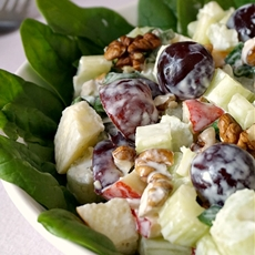 Best ever Waldorf salad