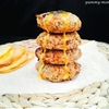 Tuna burgers with honey