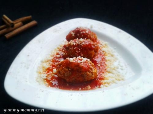 Soutzoukakia (Smyrna meatballs)