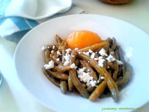 Greek green beans