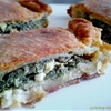 Greek spinach pie with feta