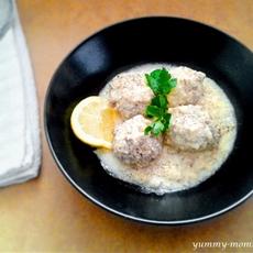 Giouvarlakia (Greek Meatball Soup)