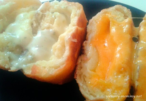 Cheesy donuts