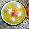 Chicken balChicken ball soupl soup